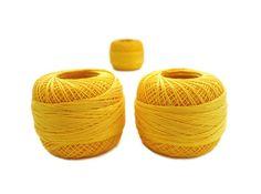 coton yarn 3 balls fine crochet50 number100 by yarnsupplies, $7.50