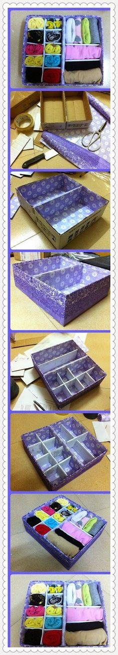 donneinpink magazine: Riciclare le scatole delle scarpe - Riciclo scatole - 14 tutorial dal web: