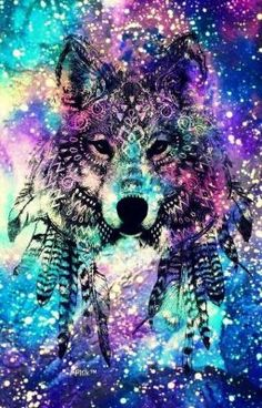 Check out this awesome collection of Galaxy Wolf wallpapers, with 34 Galaxy Wolf wallpaper pictures for your desktop, phone or tablet. Cute Galaxy Wallpaper, Tier Wallpaper, Hipster Wallpaper, Wolf Wallpaper, Animal Wallpaper, Mobile Wallpaper, Lobo Tribal, Tribal Wolf, Galaxy Wolf