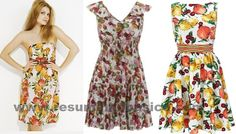 Moda Primavera Verão 2012: Estampas com Frutas