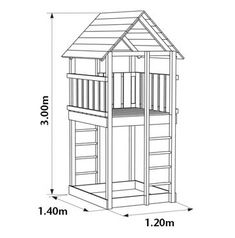 a simple design tree house Kids Playhouse Plans, Garden Playhouse, Build A Playhouse, Cubby Houses, Play Houses, Tree Houses, Tree House Plans, Diy Tree House, Simple Tree House