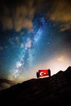 He is mine, he is my nation, but he . Visit Turkey, City Sky, World's Most Beautiful, Istanbul Turkey, Background S, Northern Lights, Red And White, Photography, Travel