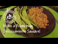Molho bolonhesa deliciosamente saudável (My weight loss diary DIA1 ) - YouTube