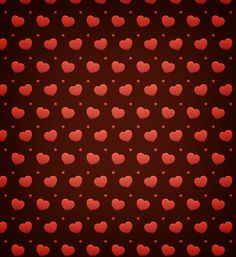 Free Heart Valentine Photoshop Pattern