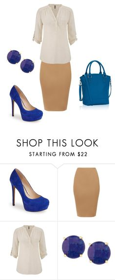 """""""Cobalt for Day"""" by stephanyylw on Polyvore featuring Jessica Simpson, maurices, Panacea, women's clothing, women, female, woman, misses and juniors"""