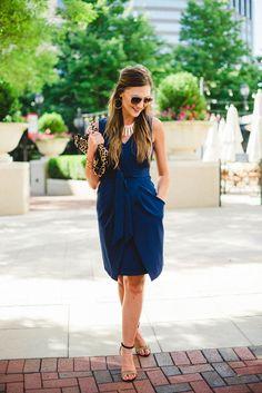 Donna Morgan Tulip Hem Dress 2