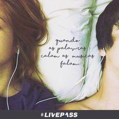 Não é verdade? #livepass