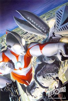 """Ultraman: A Special Effects Fantasy Series Movie Art Poster 24""""X36"""""""
