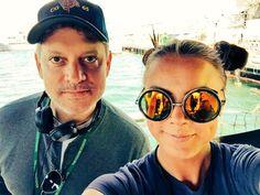 Bossman Steven Kane and Trini- The Last Ship