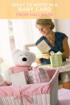 Need help finding the right words. Offer heartfelt new baby wishes with these ideas from Hallmark writers.