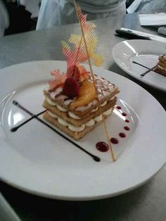 fancy plated desserts - Google Search