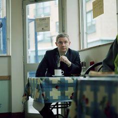 Martin Freeman's 2005 photoshoot