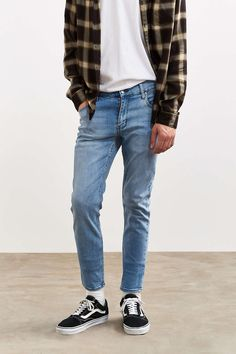 Cheap Monday Tight Stonewash Blue Skinny Jean