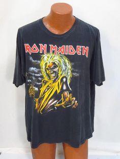 Iron Maiden 'The Killers' Concert Tee Shirt *