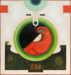 Greta Leśko Narodzenie Pańskie Religious Images, Religious Icons, Religious Art, Family Painting, Jesus Art, Madonna And Child, Orthodox Icons, Sacred Art, Triptych