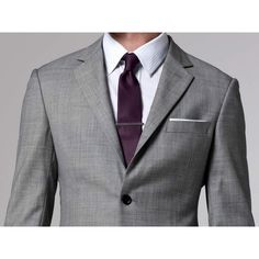 The Essential Gray Suit Indochino found on Polyvore featuring women's fashion