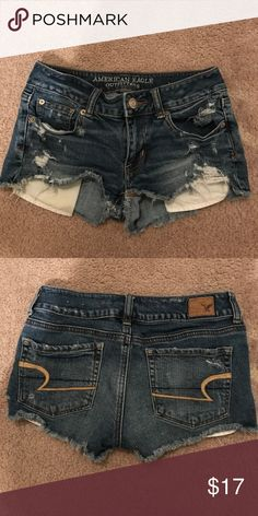 Jean shorts American Eagle jean shorts. Worn less than 5 times. American Eagle Outfitters Shorts Jean Shorts