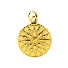 Macedonian Vergina Sun  Sterling Silver 24K/ Gold by culturetaste