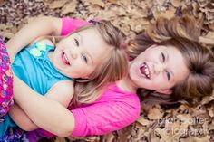 © Brian Potter Photography #family #portraits #staroftxbb #kids #leaves #fall