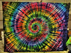 awesome tie dye tapestry