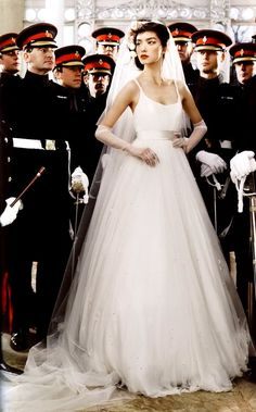 wedding dresses from vogue