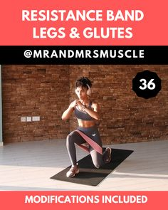 Fitness exercises 515732594830048218 - Tone your Legs and build your Glutes in this RESISTANCE BAND HIIT Workout at Home or the gym. Low impact modifications are included. — Source by MissOwlll Hiit Workout Routine, Gym Workout Videos, Gym Workouts, At Home Workouts, Fitness Exercises, Pilates Workout, Tabata, Leg And Glute Workout, Full Body Hiit Workout