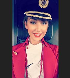 From @emilythomas__ Ladies & Gentleman this is your Captain speaking #happyworldpilotsday #pilot #cabincrew #crewlife #flightdeck #cockpit #dubai #heathrow #virginatlantic #selfie #crewfie #crewlife #instapilot #instagood #instagram #instalike #instadaily #instagramers #pilotlife #lhr #dxb #travel #plane #lipstick #happy #love #life #crewiser #cabincrewlife #aircraft
