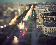 .Midnight in Paris - Paris Photography, Romantic, Cityscape, View, Whimsical Travel Photography, Dreamy Streets