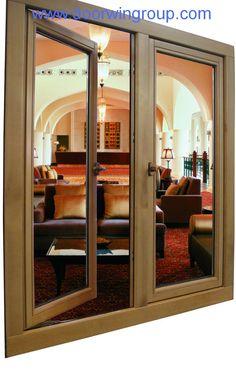 wood windows | Wood/Timber Clad Aluminum Casement Windows - Sell Wood Aluminum Window ...