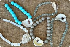The lovely Amanda at Dixie Delights is holding an amazing giveaway for these delicious Oyster Shell Necklaces...oh, how I want one of these beauties!