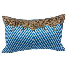 Check out this item at One Kings Lane! Chinese Opera Robe Fragment Pillow