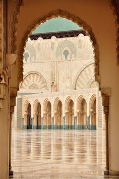 Emmy DE * Morocco. Mosque Hassan II in Casablanca, one of the largests and most beautiful Mosques in the world, partially built on water.