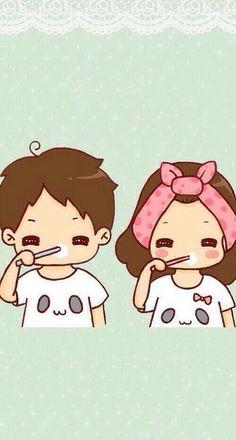 Adorable cute stuff and chibi cute love cartoons, couple cartoon и cute . Cute Couple Pictures Cartoon, Cute Couple Sketches, Cute Couple Art, Cute Love Cartoons, Anime Love Couple, Cartoon Pics, Cute Cartoon Wallpapers, Cute Anime Couples, Cute Pictures