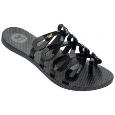 Zaxy: Infinity Womens ZX Sandal Youth/Women (Black)