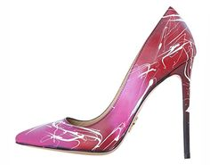 Janiko by Resolution Color Instinct XBR017 Damen High-Heels Pink/Rot/Weiß , Groesse Eur:40