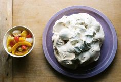 Creating a showstopper needn't be expensive with this pavlova recipe from The Cornershop Cookbook. Perfect for a budget Christmas feast or dinner party. Pavlova Recipe, Nigella Lawson, Dessert Recipes, Party Desserts, Pudding Cake, No Bake Treats, Serving Dishes, Tray Bakes, No Bake Cake