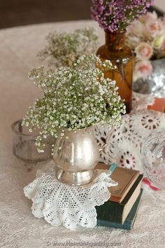 Kleine Marie floral design - antique vintage