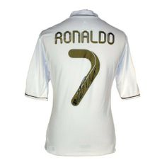Cristiano Ronaldo Signed Real Madrid Jersey by Icons.  599.99. This Real  Madrid home shirt 96dfbc06f
