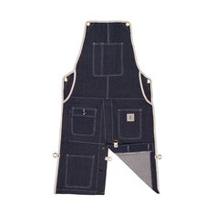 Pockets - Split-Leg Denim Apron
