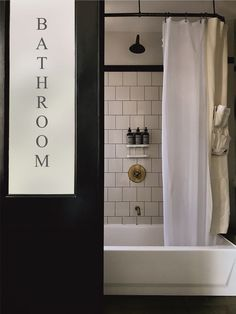 Bathrooms That Move Over to the Dark Side