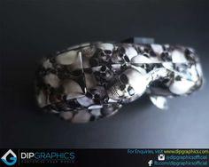 Hydro-Dipped-Fatshark-HD2-HD3-In-Multi-Skull