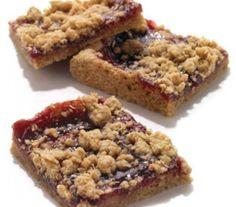 Oatmeal Raspberry-Jam Bars