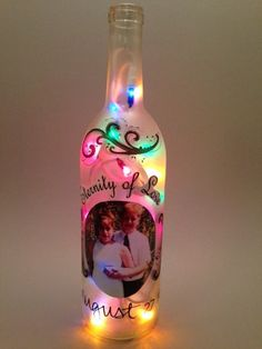 Personalized Photo Light - Battery Operated by InfinityBasketsGifts on Etsy