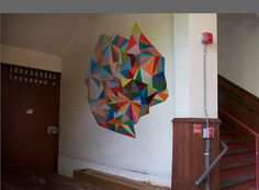 anne seidman: INSTALLATION - I want to do something like this in my hallway