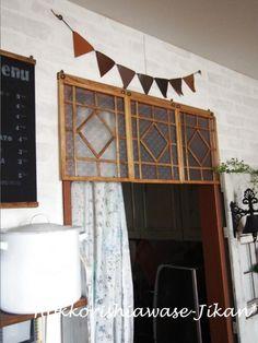 超簡単☆100均材料で作るカフェ風レトロな飾り窓|暮らしニスタ