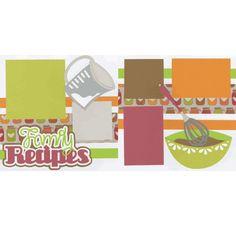 Family Recipes Page Kit