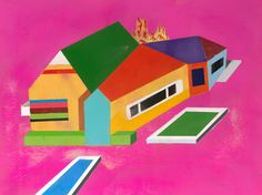 Untitled 1 by J. Otto Seibold is filled with bright colors and fun shapes...and a little mystery too.