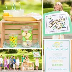LilSugar's Kids' Lemonade Stand Ideas