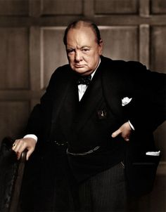 Winston Churchill is considered one of the defining figures of the century, remembered for his inspirational speeches and for leading Britain to victory in the Second World War. What Is Portrait Photography, Famous Photography, Modern Photography, Winston Churchill, Churchill Quotes, Churchill Downs, Famous Portrait Photographers, Colorized Historical Photos, Yousuf Karsh