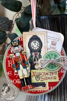 Graphic 45's Nutcracker Sweet collection